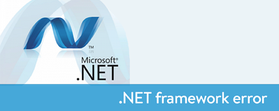 microsoft-net-framework-error
