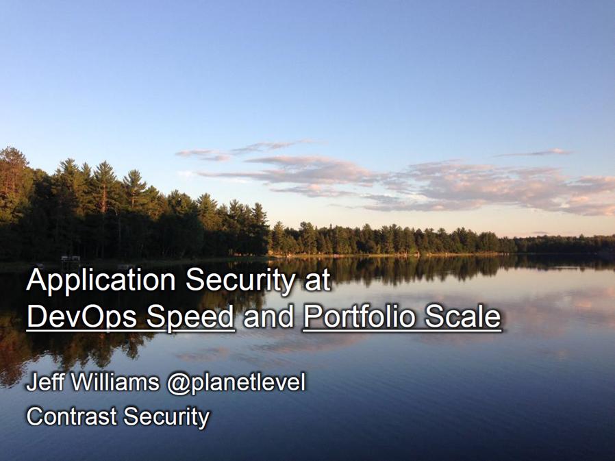 Jeff_Williams_AppSecCali_Presentation