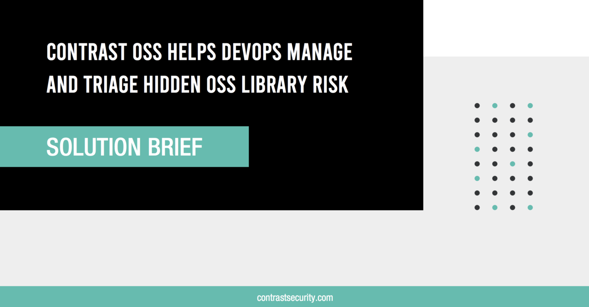 Contrast-OSS-Helps-DevOps_Solution Brief_5122020_Final