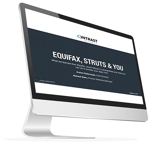 Equifax, Struts & You