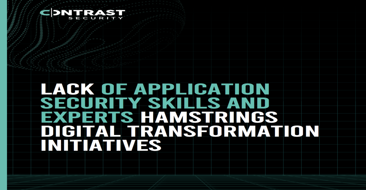 Lack of Application Security Skills and Experts Hamstrings Digital Transformation Initiatives-1