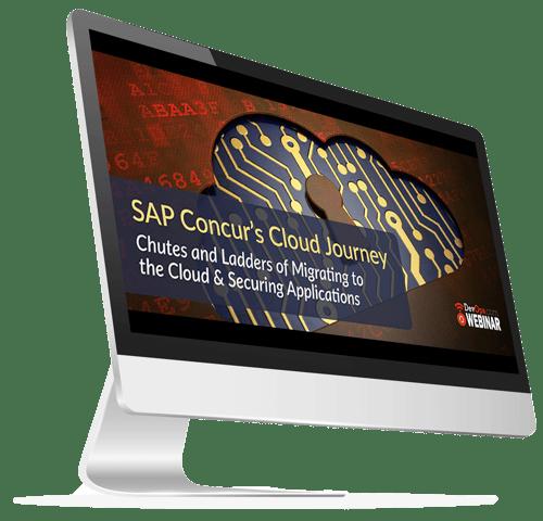 SAP Concurs Cloud Journey webinar iMac