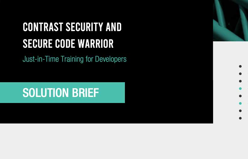 Secure Code Warrior Solution Brief