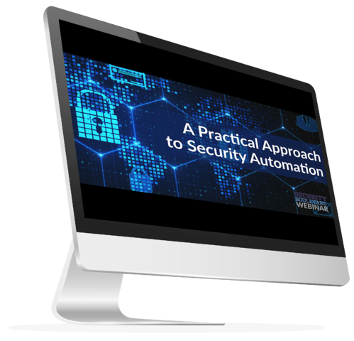 Security Automation Webinar iMac