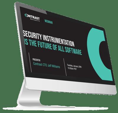 Security Instrumentation Webinar iMac
