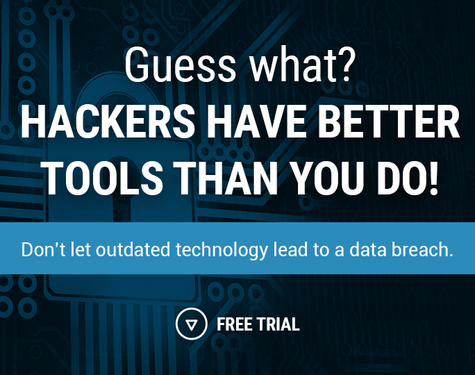 Hackers have better tools than you...