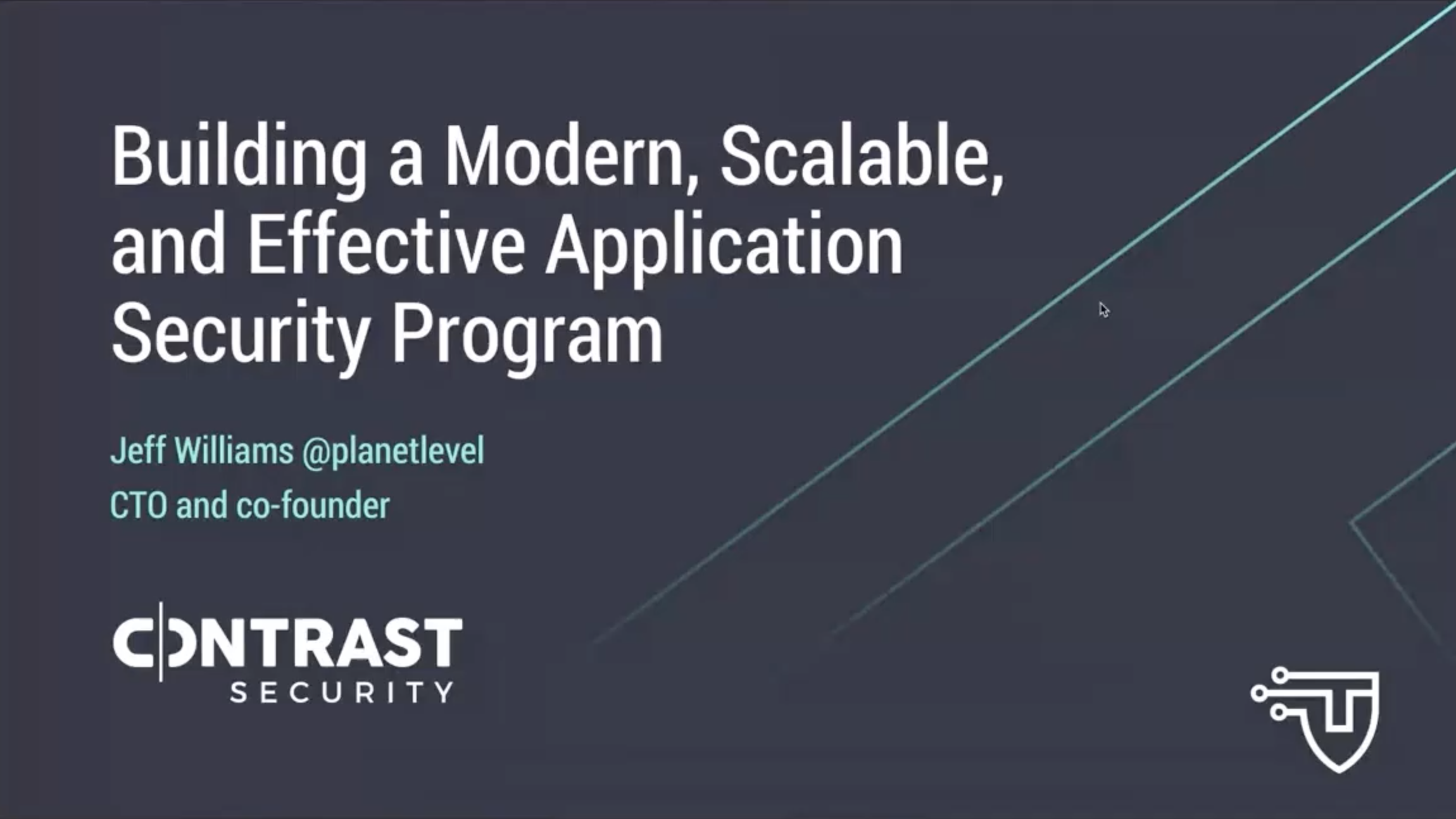 Building a Modern, Scalable, and Effective Application Security Program