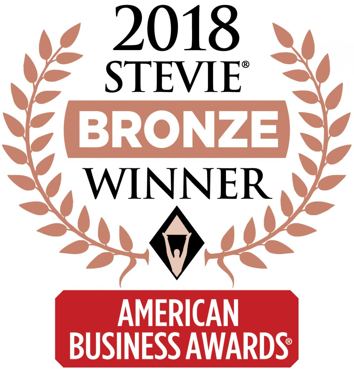 Contrast Assess wins the Bronze Stevie Award for