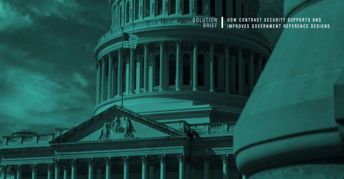 How Contrast Security Supports and Improves Government Reference Designs - Solution Brief
