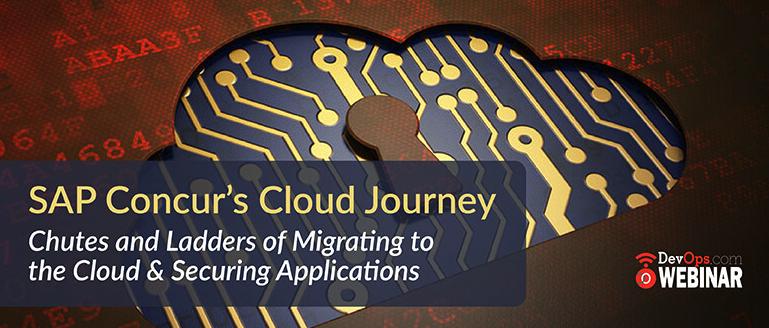 SAP Concur Cloud Journey